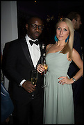 SANYIKA ODIETE; PETRA FAGRELL, Sotheby's Frieze week party. New Bond St. London. 15 October 2014.