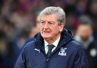 Football - 2018 / 2019 Premier League - Crystal Palace vs. Watford<br /> <br /> Crystal Palace manager Roy Hodgson greets the fans, at Selhurst Park.<br /> <br /> COLORSPORT/ASHLEY WESTERN