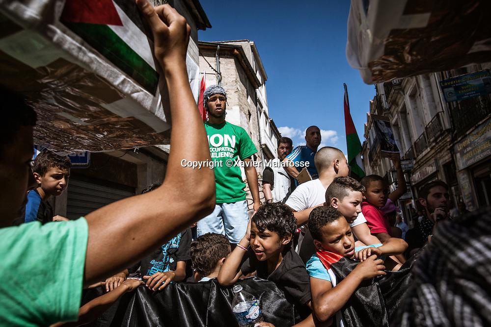 En juillet 2014, plusieurs manifestations ont rassemblé plus milliers de personnes à Montpellier, en solidarité avec les populations de Gaza et pour demander un arrêt des bombardements par Israël.