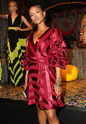 September 12, 2018 - New York City, New York, USA - 9/11/18.Karrueche Tran at the Alice and Olivia SS19 Fashion Presentation during New York Fashion Week in New York City..(NYC) (Credit Image: © Starmax/Newscom via ZUMA Press)
