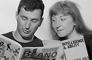 Linda Smith & Henry Normal, Comedian. Sheffield Popular Productions. 27-07-1992