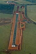 Frutal_MG, 29 de Julho de 2008...Aereas da conclusao da obra do Aeroporto de frutal...The construction of the Frutal airport...Foto: BRUNO MAGALHAES / NITRO