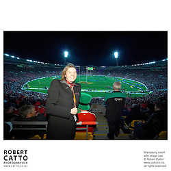 British & Irish Lions v. All Blacks Second Test at Westpac Stadium, Wellington, New Zealand.<br />