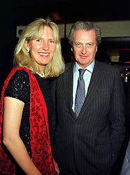 MISS CLARE HOLLAND and the HON.MICHAEL TOLLEMACHE, at a party in London on 3rd November 1999.MYN 18