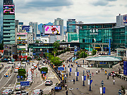 SEOUL, SOUTH KOREA: Seoul Station, the largest train station in South Korea, is in central Seoul just south of downtown.      PHOTO BY JACK KURTZ