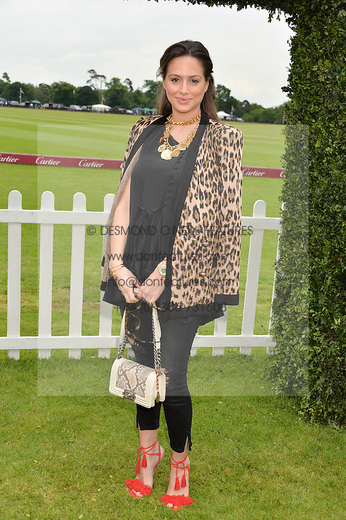 SASKIA WINBERGH at the Cartier Queen's Cup Final 2016 held at Guards Polo Club, Smiths Lawn, Windsor Great Park, Egham, Surry on 11th June 2016.