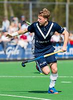 AMSTELVEEN - Dennis Warmerdam (Pinoke)   tijdens de hoofdklasse competitiewedstrijd heren hockey Pinoke-Kampong (1-4) .   COPYRIGHT KOEN SUYK