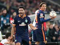 Fussball  1. Bundesliga  Saison 2015/2016  15. Spieltag  VfB Stuttgart  - SV Werder Bremen   06.12.2015 Claudio Pizarro (SV Werder Bremen) emotional