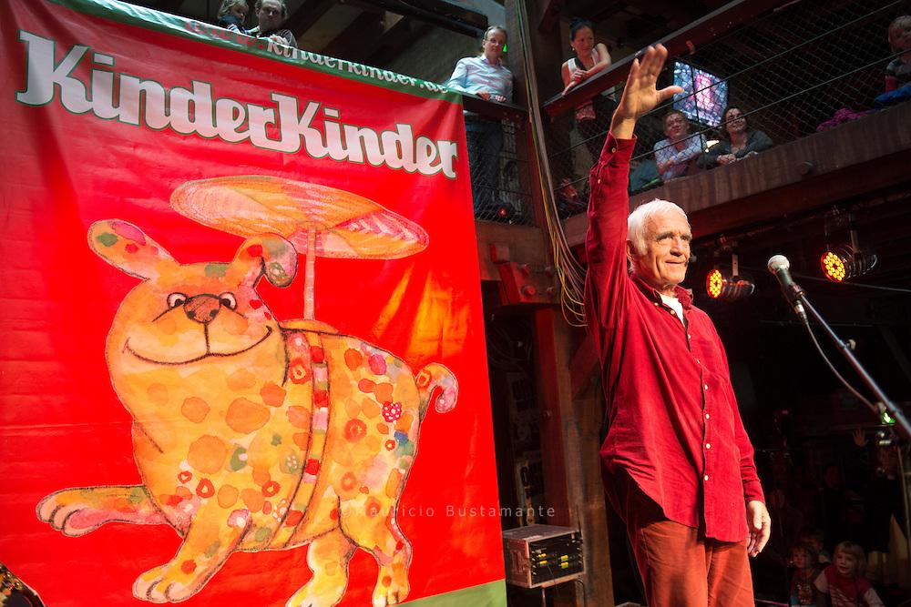Fredrik Vahle<br /> Lieder und Geschichten – <br /> FABRIK Altona<br /> So 27.10.2013 11.30