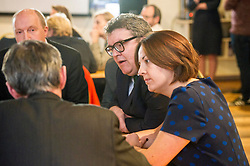 Pictured: Kezia Dugdale and Tom Watson.<br /> Scottish Labour leader Kezia Dugdale, MSP,  and Tom Watson, MP deputy leader of the Labour Party, visited Edinburgh's Serenity cafe today to meet and encourage Labour candidates ffor the upcoming local elections;<br /> Ger Harley | EEm 27 March 2017