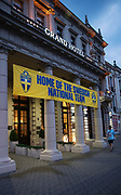 LUBLIN, POLEN 2017-06-12<br /> Svenska landslagets hotell i Lublin: IBB Grand Hotel Lublinianka<br /> Foto: Nils Petter Nilsson/Ombrello<br /> Fri anv&auml;ndning f&ouml;r kunder som k&ouml;pt U21-paketet.<br /> Annars Betalbild.<br /> ***BETALBILD***