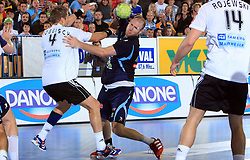Oliver Roggisch of Germany vs Ales Pajovic of Slovenia at qualification match for  Euro 2010 in Austria between national teams of Slovenia and Germany, Group 5, on November 2, 2008 in Arena Zlatorog, Celje, Slovenia. (Photo by Vid Ponikvar / Sportal Images)/ Sportida