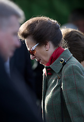 © under license to London News Pictures. 24/02/2011. HRH Princess Anne visiting Ravenswood Stables at Norwood, Ravenswood Charity & Voluntary Organisation in Crowthorne, Berks today (24/02/2011). HRH Princess Anne attended a special exhibition of Carriage Driving and Special Olympics Dressage.  Photo credit should read: London News Pictures
