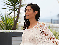 Actress Golshifteh Farahani at the Paterson film photo call at the 69th Cannes Film Festival Monday 16th May 2016, Cannes, France. Photography: Doreen Kennedy
