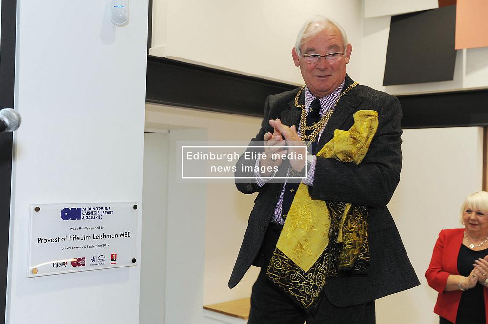 Dunfermline museum opening,Dunfermline, 6-9-2017<br /> <br /> Provist Jim Leishman<br /> <br /> (c) David Wardle   Edinburgh Elite media