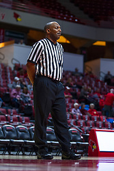 NORMAL, IL - October 30:  Keith Kee during a college women's basketball game between the ISU Redbirds and the Lions on October 30 2019 at Redbird Arena in Normal, IL. (Photo by Alan Look)