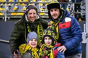 Borussia Dortmund fans ahead of the Champions League round of 16, leg 2 of 2 match between Borussia Dortmund and Tottenham Hotspur at Signal Iduna Park, Dortmund, Germany on 5 March 2019.