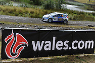 action from Wales Rally GB 2012, shakedown and qualifying stage at the Walters arena motorsport complex, near Glyn-Neath, South Wales on Wed 12th Sept 2012. picture by Andrew Orchard, Andrew Orchard sports photography