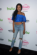 XOSHA ROQUEMORE attends The Mindy Project 100th Episode Party at E.P. & L.P. in West Hollywood, California.