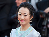 Actress Tao Zhao at the Ash Is The Purest White (Jiang Hu Er Nv) gala screening at the 71st Cannes Film Festival, Friday 11th May 2018, Cannes, France. Photo credit: Doreen Kennedy