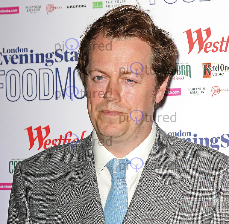 Tom Parker Bowles, London Evening Standard Food Month - launch, Banking Hall, London UK, 30 May 2017, Photo by Richard Goldschmidt