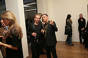 Sven Vaeth and Andreas Gursky, Andreas Gursky.Spruth Magers Gallery. Grafton St. London. 22 March 2007.   -DO NOT ARCHIVE-© Copyright Photograph by Dafydd Jones. 248 Clapham Rd. London SW9 0PZ. Tel 0207 820 0771. www.dafjones.com.