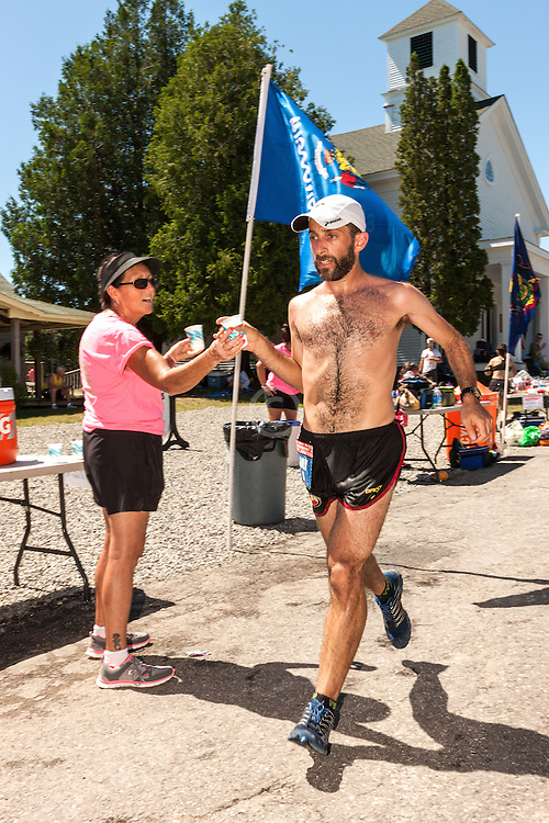 Great Cranberry Island Ultra 50K road race: Jason Friedman