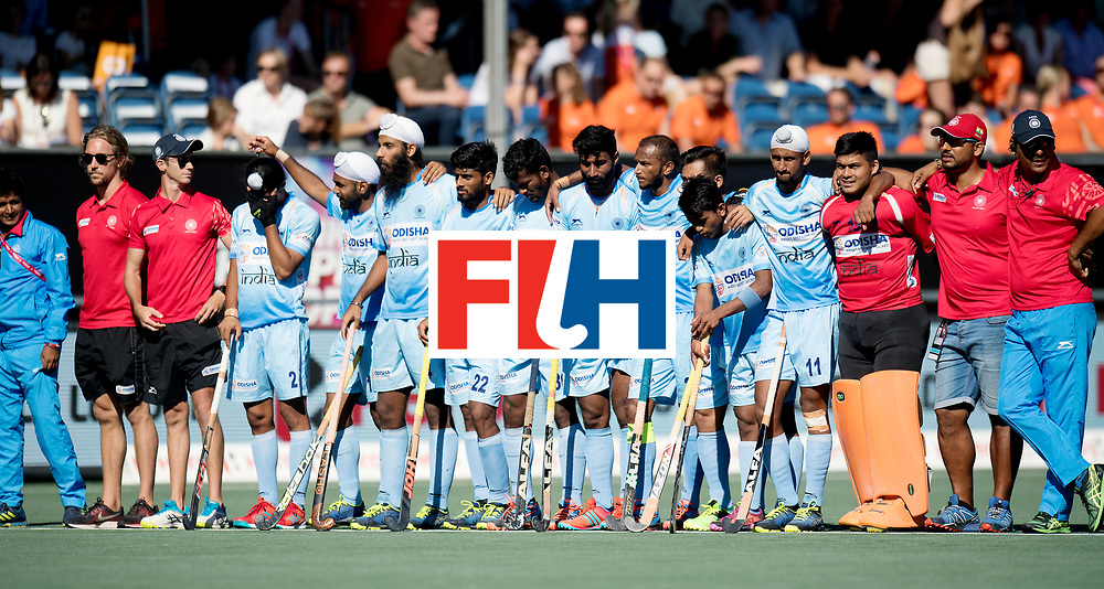 BREDA - Rabobank Hockey Champions Trophy<br /> Final Australia - India<br /> Photo: Indian team.<br /> COPYRIGHT WORLDSPORTPICS FRANK UIJLENBROEK