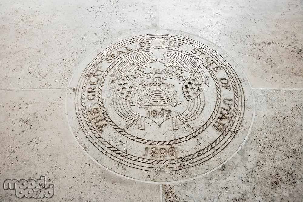 Seal of Utah in Fort Bonifacio; Manila; Philippines