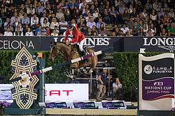De Luca Lorenzo (ITA) - Elky van het Indihof<br /> Final competiton<br /> Furusiyya FEI Nations Cup™ Final - Barcelona 2014<br /> © Dirk Caremans<br /> 11/10/14