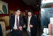 CHRISTOPHER NEWALL; MICHAEL GEORGETTI, Preview of Greek Sale sponsored by Citibank. Sotheby's. New Bond st. London. 10 November 2008 *** Local Caption *** -DO NOT ARCHIVE -Copyright Photograph by Dafydd Jones. 248 Clapham Rd. London SW9 0PZ. Tel 0207 820 0771. www.dafjones.com