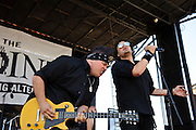 Shaman's Harvest perform at Pointfest 26 at Verizon Wireless Amphitheater in St. Louis on June 6, 2010