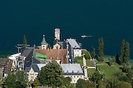 22/08/16 - SAINT PIERRE DE CURTILLE - SAVOIE - FRANCE - Abbaye Royale d Hautecombe sur le Lac du Bourget. Necropole de la Maison de Savoie - Photo Jerome CHABANNE