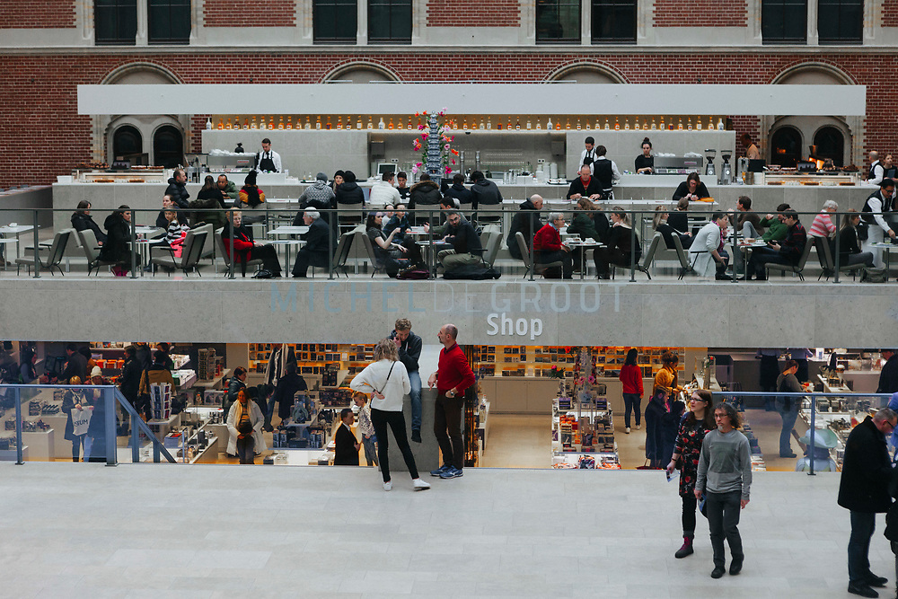 Story Summary: What's the latest in museum shops / the Rijksmuseum's Gift shop, February 27, 2018