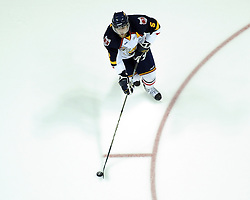 Dalton Prout of the Barrie Colts in Game 3 of the Rogers OHL Championship Series in Windsor on Sunday May 2. Photo by Aaron Bell/OHL Images