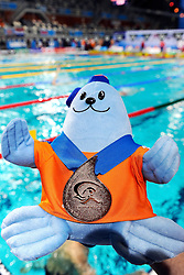 25.11.2010, Pieter van den Hoogenband Zwemstadion, Eindhoven, NED, Kurzbahn Schwimm EM, im Bild Bronze Medal.. // Eindhoven 25/11/2010 .European Short Course Swimming Championships, EXPA/ InsideFoto/ Staccioli+++++ ATTENTION - FOR USE IN AUSTRIA/AUT AND SLOVENIA/SLO ONLY +++++ / SPORTIDA PHOTO AGENCY