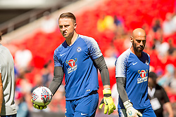 August 5, 2018 - Marcin Bulka of Chelsea during the 2018 FA Community Shield match between Chelsea and Manchester City at Wembley Stadium, London, England on 5 August 2018. Photo by Salvio Calabrese. (Credit Image: © AFP7 via ZUMA Wire)