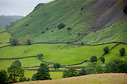 Lakeland scene near Grasmere in the Lake District National Park, Cumbria, UK