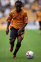 Photo: Rich Eaton.<br /> <br /> Wolverhampton Wanderers v Luton Town. Coca Cola Championship. 26/08/2006. Jemal Johnson, scorer of Wolves winning goal