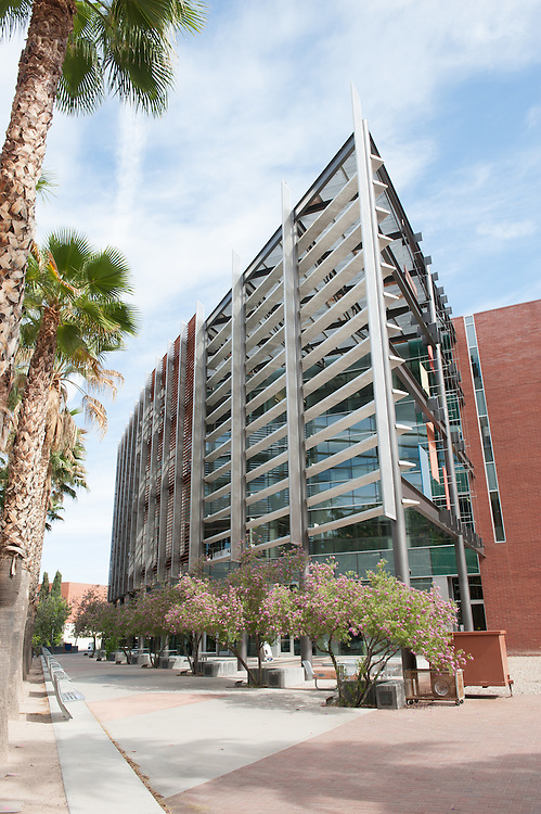 University of Arizona buildings on campus, Tucson, Arizona