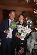 CARLA CARELLO; SARA CARELLO, The Cartier Chelsea Flower show dinner. Hurlingham club, London. 20 May 2013.