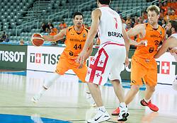 05-09-2015 CRO: FIBA Europe Eurobasket 2015 Georgie - Nederland, Zagreb<br /> Arvin Slagter of Netherlands during basketball match between Georgia and Netherlands at Day 1 in Group C of FIBA Europe Eurobasket 2015, on September 5, 2015, in Arena Zagreb, Croatia. Photo by Vid Ponikvar / RHF
