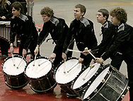 Clayton's Northmont High School competes at the Dayton Percussion Regional Finals, in the James Trent Arena, Sunday morning.