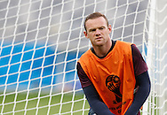 Wayne Rooney of England during the England training session the day before their final Group D match against Costa Rica at Mineirão, Belo Horizonte, Brazil. <br /> Picture by Andrew Tobin/Focus Images Ltd +44 7710 761829<br /> 23/06/2014