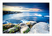 Vibrant morning colours over Gordons Bay, Sydney [Gordons Bay, NSW]<br />