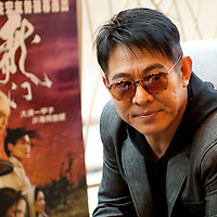Actor Jet Li at the UA Galaxy Cinemas Grand Opening press conference, December 15th, 2011. Photo by  Fan Chi Hang /  studioEAST