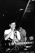 Bernard Sumner,Joy Division, Moonlight Club, West Hampstead, London 1981
