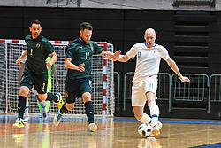 Pablo Vieira Arlan of Italy and Klemen Duscak of Slovenia during futsal friendly match between National teams of Slovenia and Italy, on December 3, 2019 in Maribor, Slovenia. Photo by Milos Vujinovic / Sportida