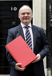 © Licensed to London News Pictures. 15/09/2011. London, United Kingdom .Cllr Royston Smith..Petition being delivered to No.10 Downing Street by a coalition of politicians and business leaders against Liverpool's cruise terminal proposal..Photo credit : Chris Winter/LNP