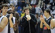 KOSARKA, BEOGRAD, 04. Nov. 2010. - Tuga kosarkasa Partizana. Utakmica 3. kola Evrolige za sezonu 2010/2011 izmedju Partizana i Makabija odigrane u hali Pionir. Euroleague 2. round Partizan vs Maccabi Electra.  Foto: Nenad Negovanovic